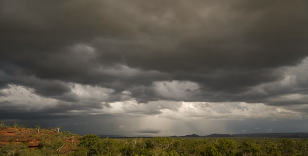 Why do most bad storms move from west to east