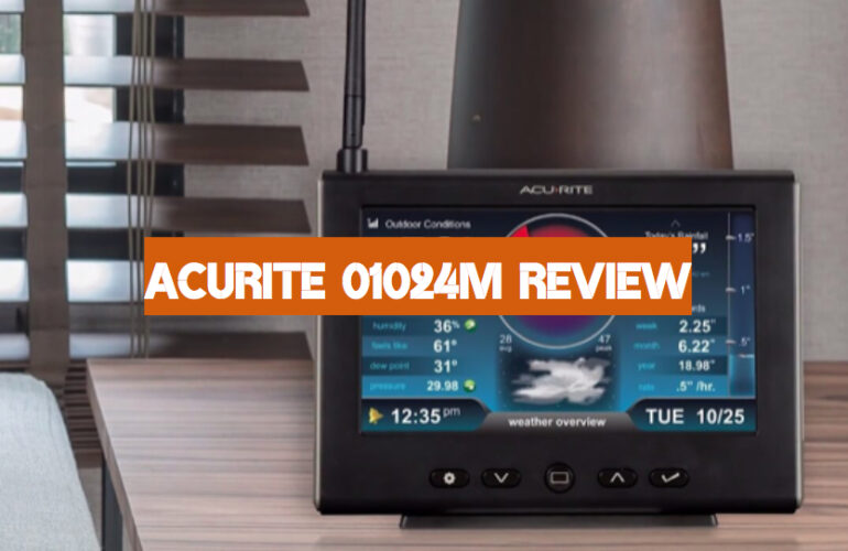 AcuRite 01024M Review